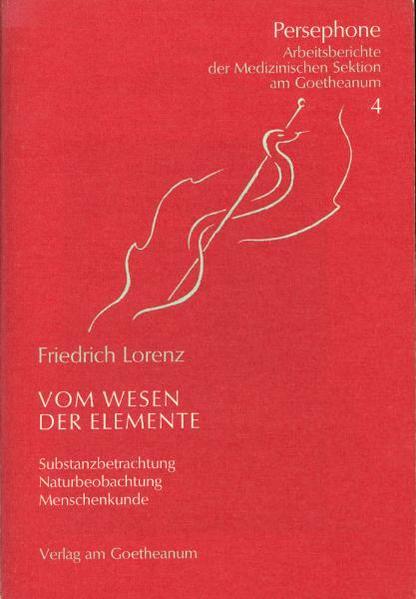 Vom Wesen der Elemente als Buch