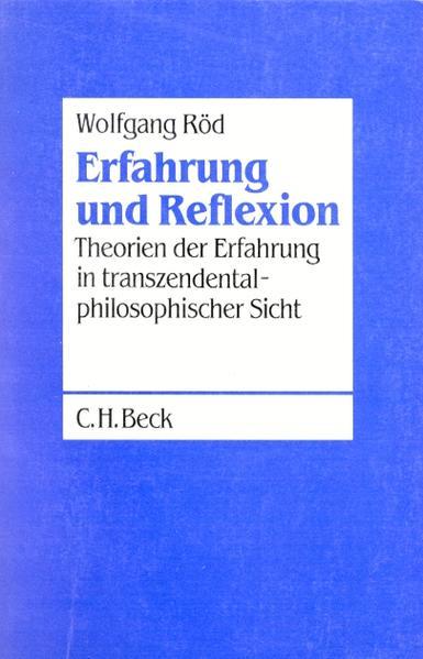 Erfahrung und Reflexion als Buch