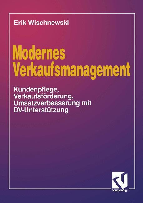 Modernes Verkaufsmanagement als Buch