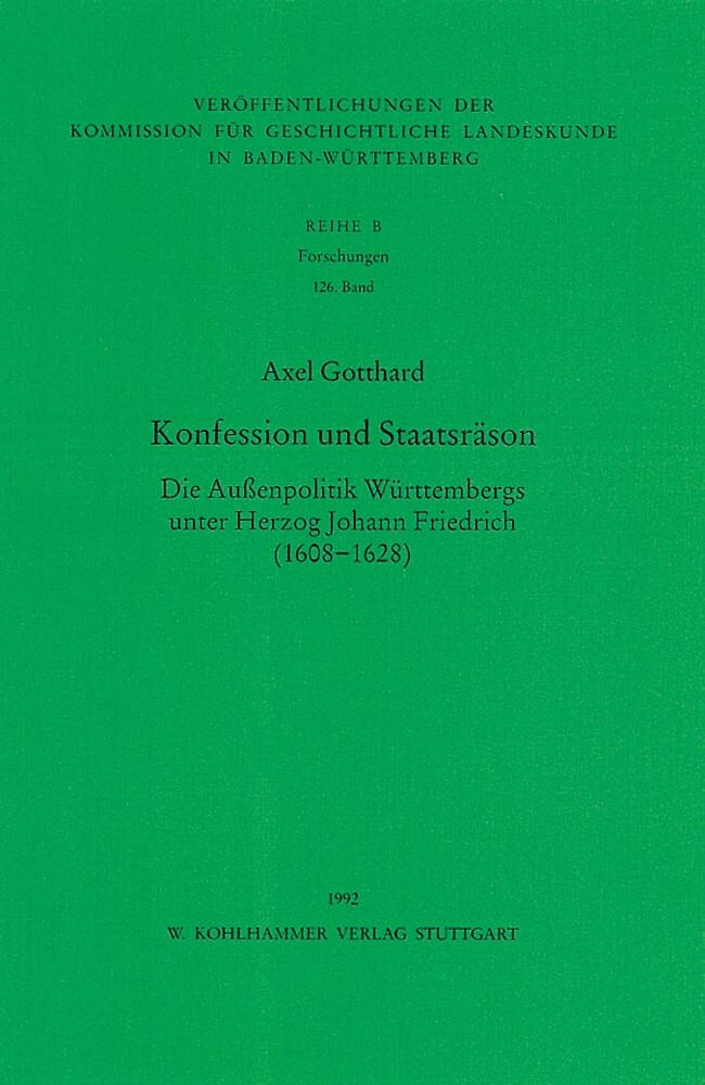 Konfession und Staatsräson als Buch