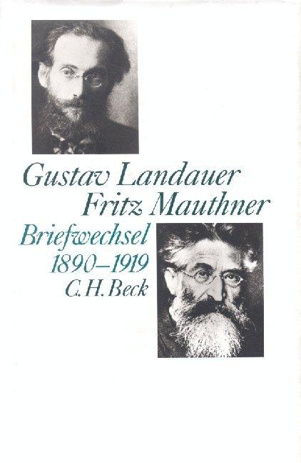 Briefwechsel 1890-1919 als Buch