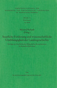 Staatlicher Auftrag und wissenschaftliche Unabhängigkeit der Landesgeschichte im deutschen Südwesten