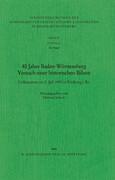 Vierzig Jahre Baden-Württemberg
