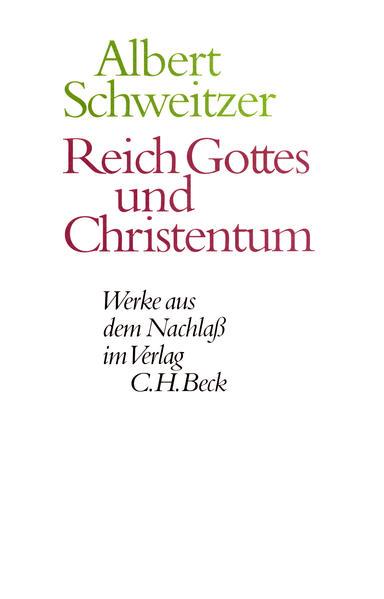 Reich Gottes und Christentum als Buch