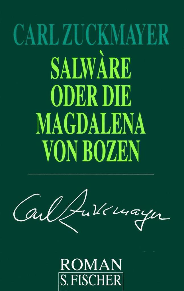 Salware oder Die Magdalena von Bozen als Buch