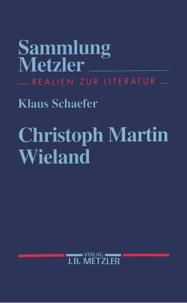 Christoph Martin Wieland als Taschenbuch