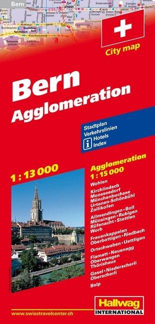 Bern 1 : 13 000 & Agglomeration 1 : 15 000 als Buch