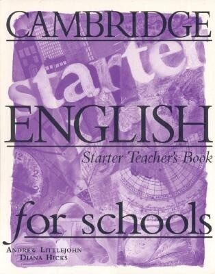 Cambridge English for Schools Starter Teacher's Book als Taschenbuch