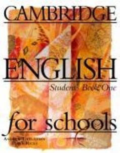 CAMBRIDGE ENGLISH FOR SCHOOLS als Taschenbuch