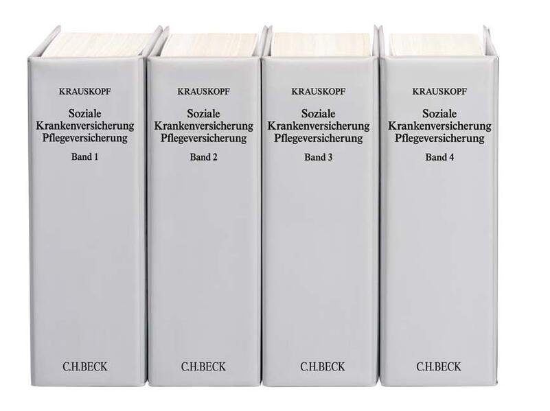 Soziale Krankenversicherung. SGB V und Nebengesetze. (mit Fortsetzungsnotierung). Inkl. 89. Ergänzungslieferung als Buch