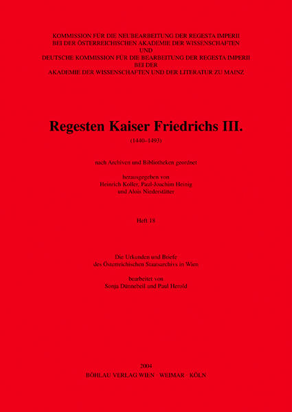 Die Urkunden und Briefe des Österreichischen Staatsarchivs in Wien als Buch