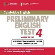 Cambridge Preliminary English Test 4 Audio CD Set (2 CDs): Examination Papers from the University of Cambridge ESOL Examinations