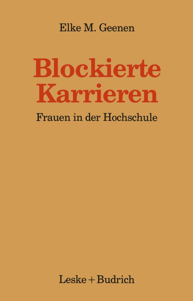 Blockierte Karrieren als Buch