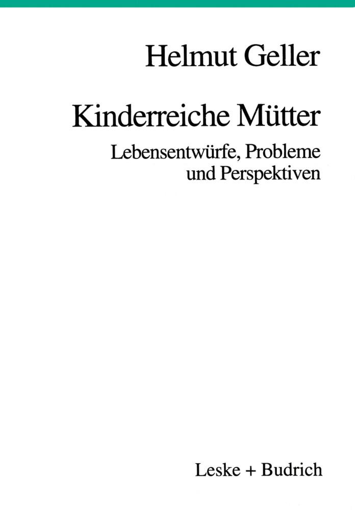 Kinderreiche Mütter als Buch