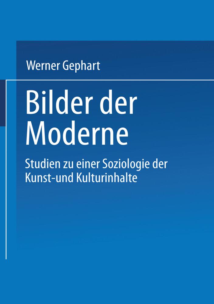 Bilder der Moderne als Buch