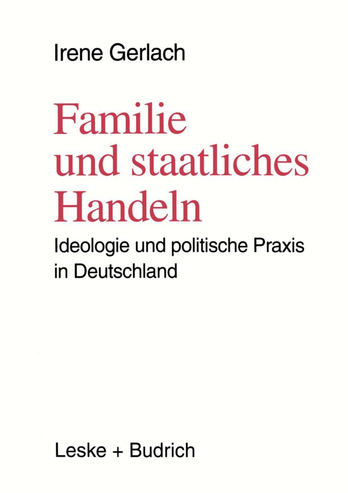 Familie und staatliches Handeln als Buch