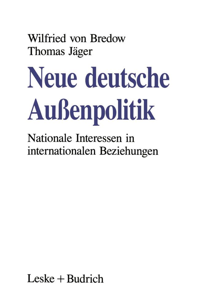 Neue deutsche Außenpolitik als Buch
