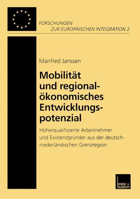 Mobilität und regionalökonomisches Entwicklungspotenzial als Buch