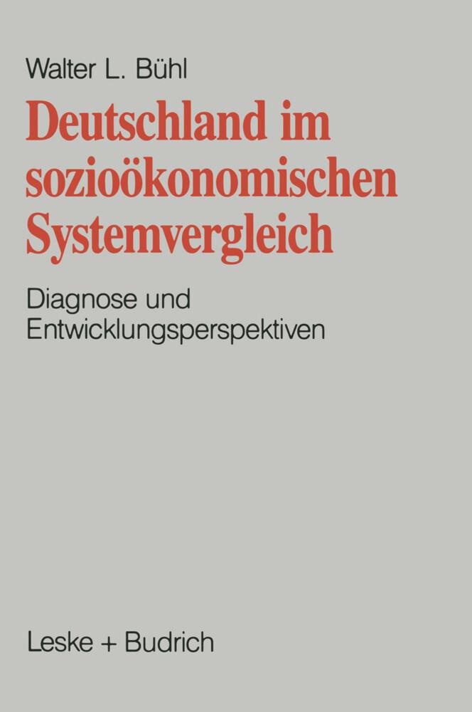 Deutschland im sozioökonomischen Systemvergleich als Buch