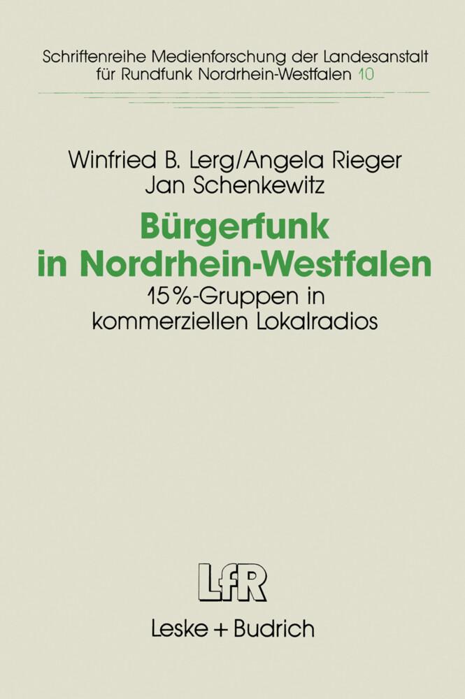 Bürgerfunk in Nordrhein-Westfalen als Buch