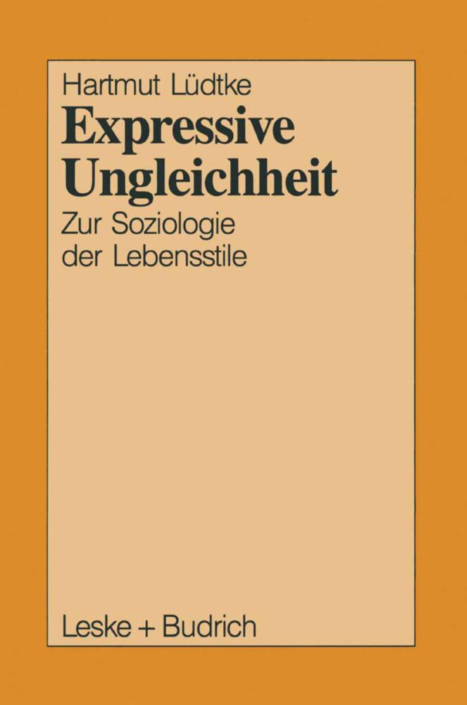 Expressive Ungleichheit als Buch
