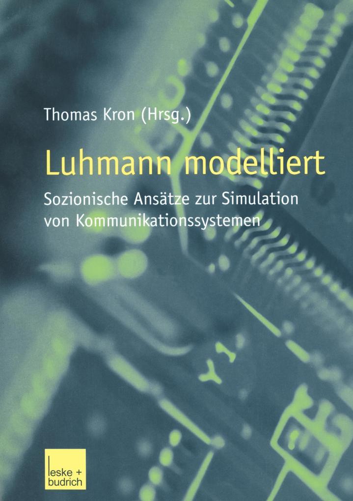 Luhmann modelliert als Buch