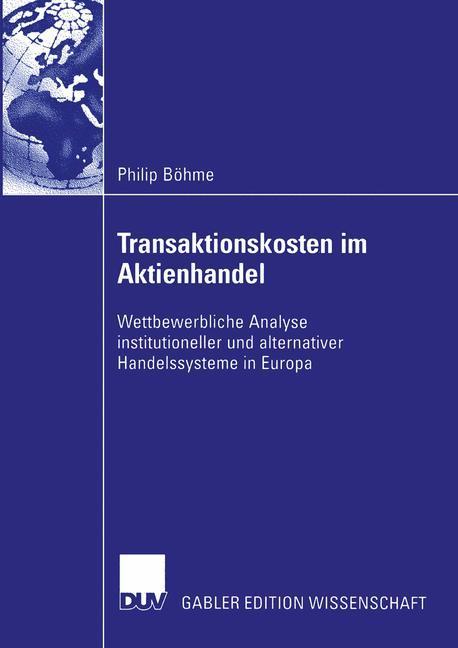 Transaktionskosten im Aktienhandel als Buch von...