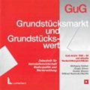 GuG-Archiv 1990-2010 / aktuelle Wertermittlungsrichtlinien als Software