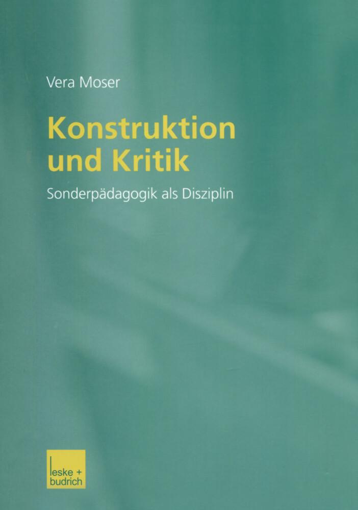 Konstruktion und Kritik als Buch