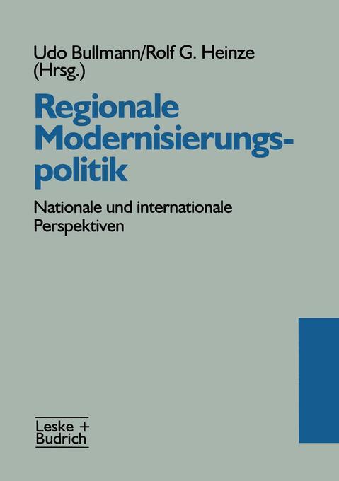Regionale Modernisierungspolitik als Buch