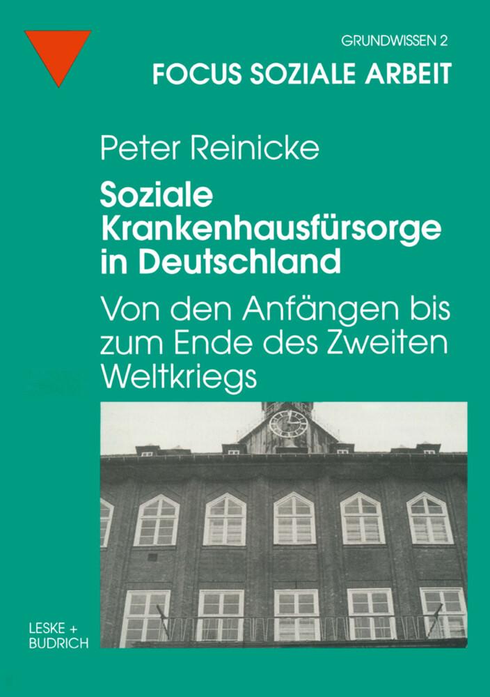 Soziale Krankenhausfürsorge in Deutschland als Buch