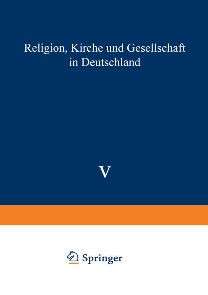 Religion, Kirche und Gesellschaft in Deutschland als Buch