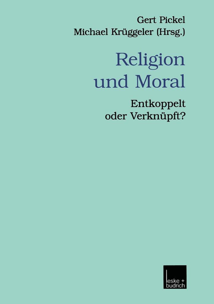 Religion und Moral als Buch