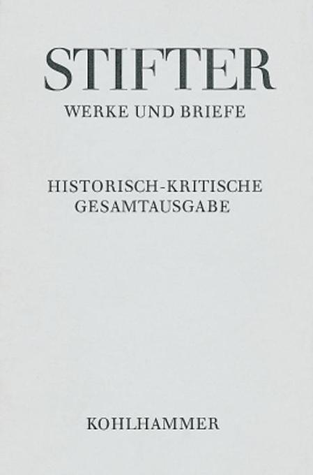 Werke und Briefe I/1. Studien, Journalfassungen I als Buch
