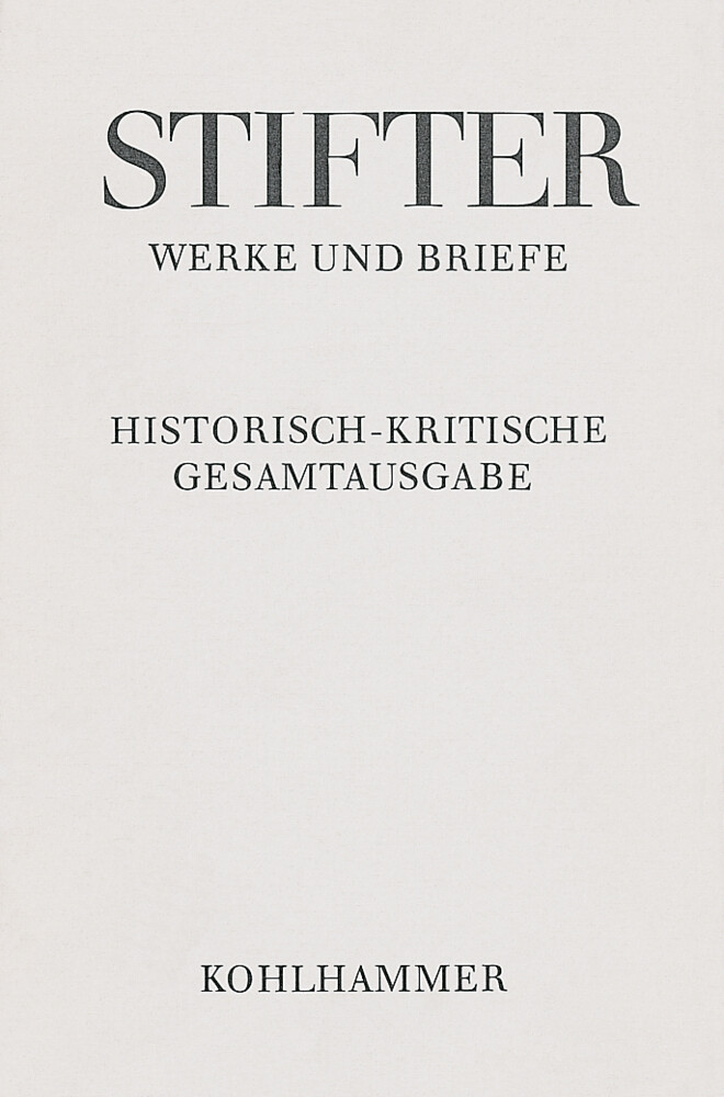 Werke und Briefe I/2. Studien, Journalfassungen II als Buch