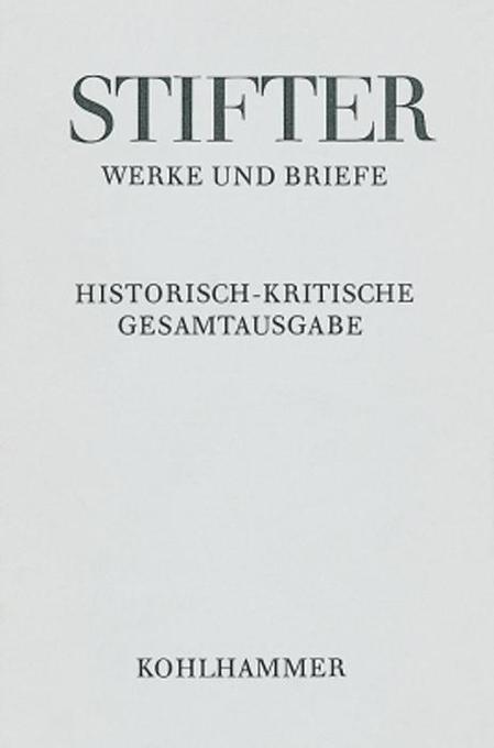 Werke und Briefe I/3. Studien, Journalfassungen III als Buch