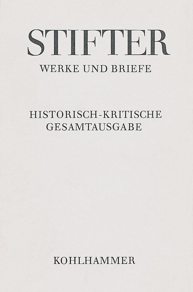 Werke und Briefe I/5. Studien, Buchfassungen II als Buch