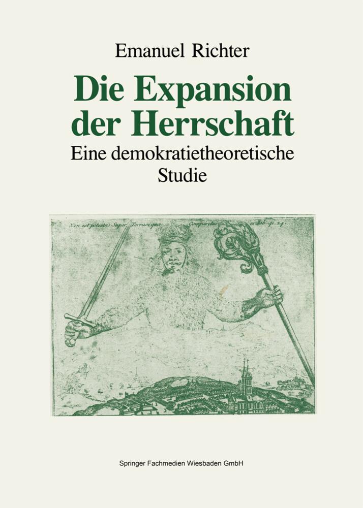 Die Expansion der Herrschaft als Buch
