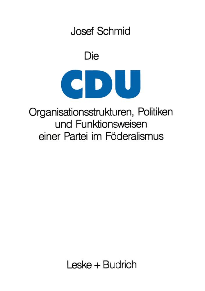 Die CDU als Buch