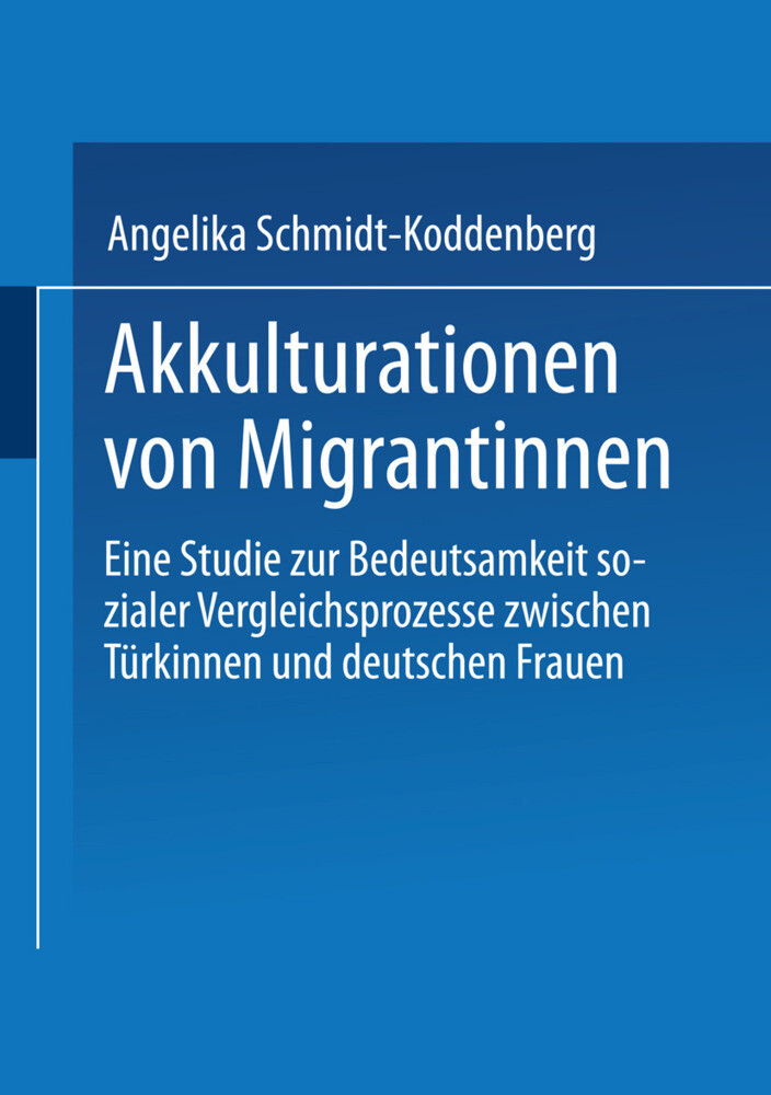 Akkulturation von Migrantinnen als Buch