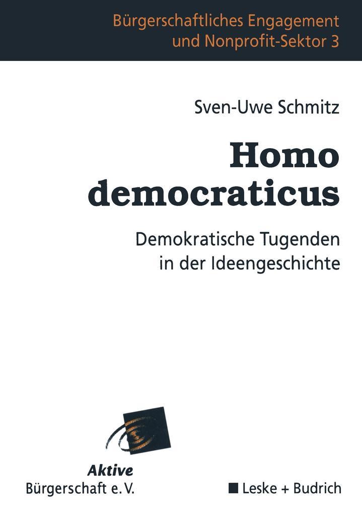 Homo democraticus als Buch