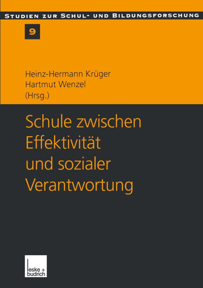 Schule zwischen Effektivität und sozialer Verantwortung als Buch