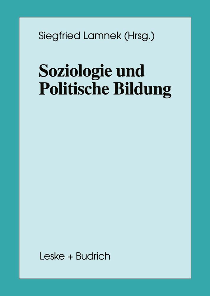 Soziologie und Politische Bildung als Buch