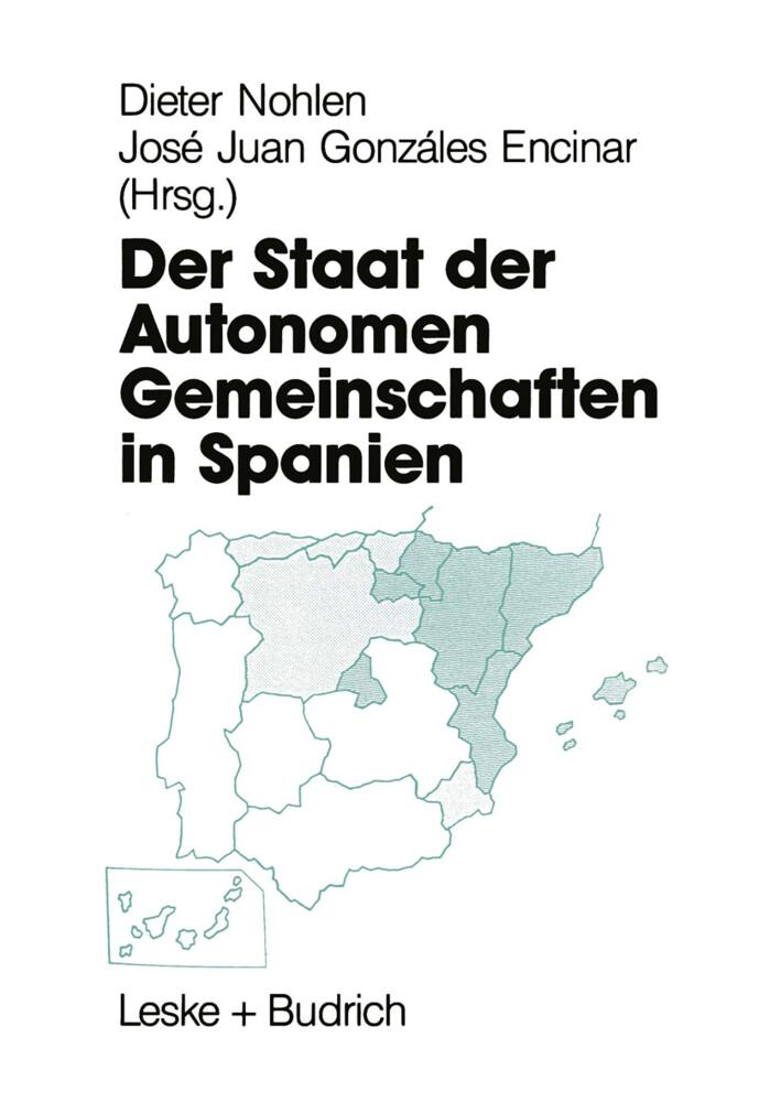 Der Staat der Autonomen Gemeinschaften in Spanien als Buch