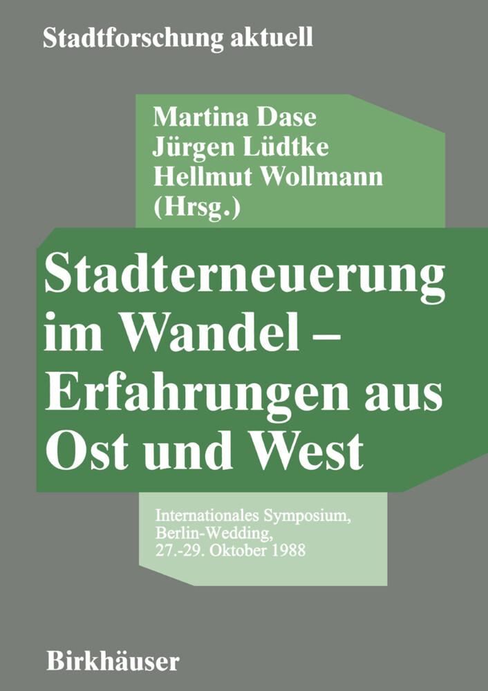 Stadterneuerung im Wandel - Erfahrungen aus Ost und West als Buch