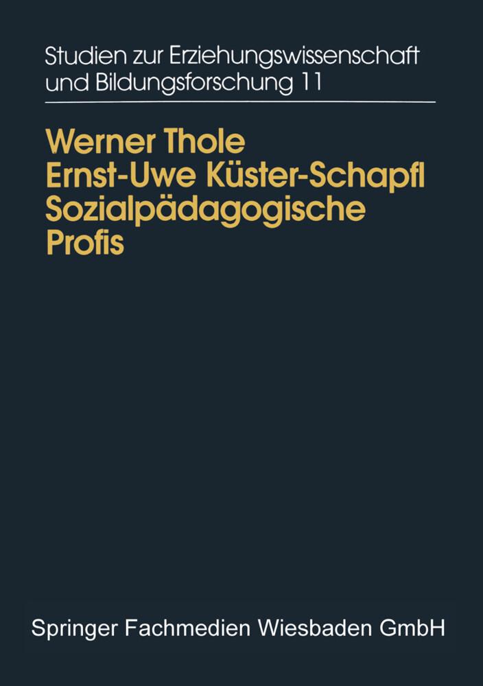 Sozialpädagogische Profis als Buch