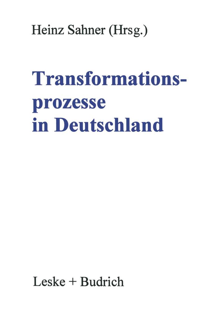 Transformationsprozesse in Deutschland als Buch