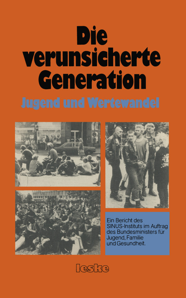 Die verunsicherte Generation als Buch