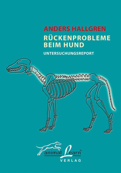 Rückenprobleme beim Hund als Buch