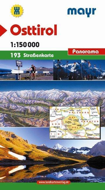 Mayr Strassenkarte Osttirol 1 : 150 000 als Buch